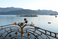Our view of Lago Maggiore from our hotel
