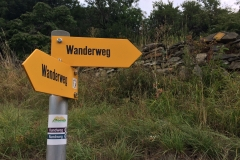 Switzerland has great trail (wanderweg) signs