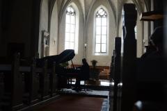 Sent, church interior