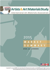NAMTA Artists and Art Materials market summary 2015