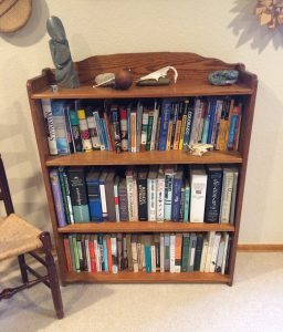 My nature bookshelf